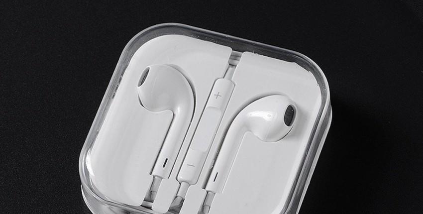 Оригинальные наушники Apple Earpods с 3,5 мм и разъем Lightning
