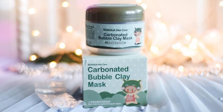 Пузырьковая маска Bioaqua - отзыв покупателя