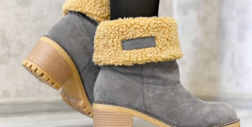 Тёплые ботиночки от sungtin Official Store - отзыв покупателя