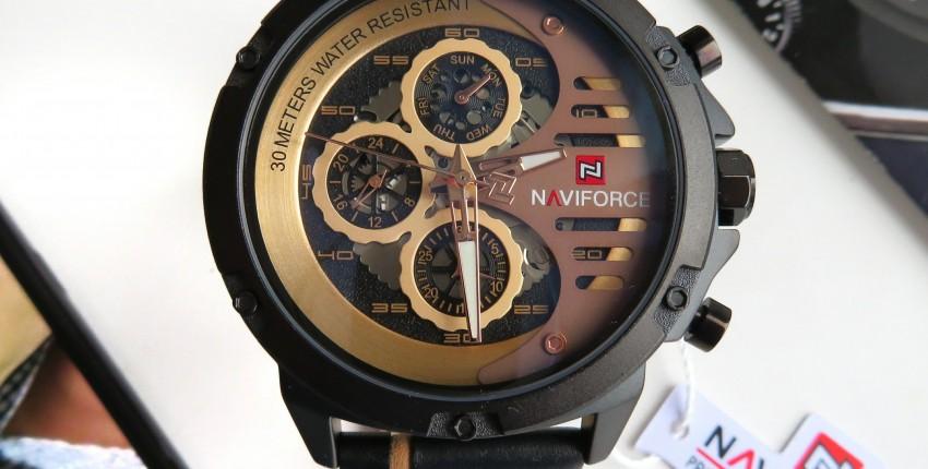 Брутальные кварцевые часы для настоящих мужчин от элитного бренда NAVIFORCE - отзыв покупателя