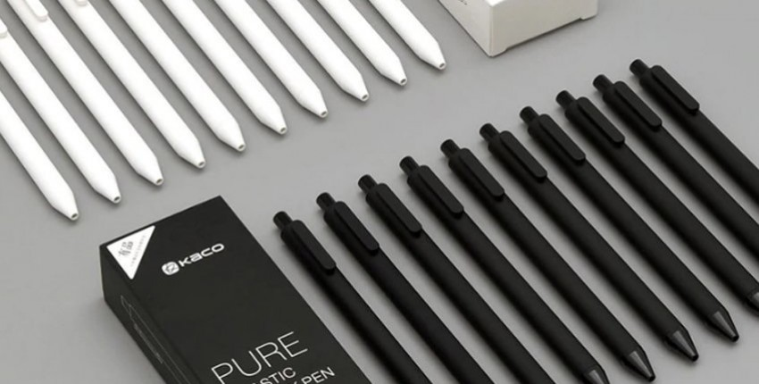 Шариковые ручки Xiaomi Mijia Kaco Pen - отзыв покупателя