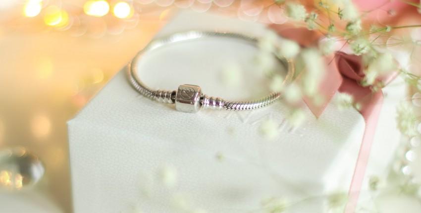 Серебряный браслет для шармов ATHENAIE