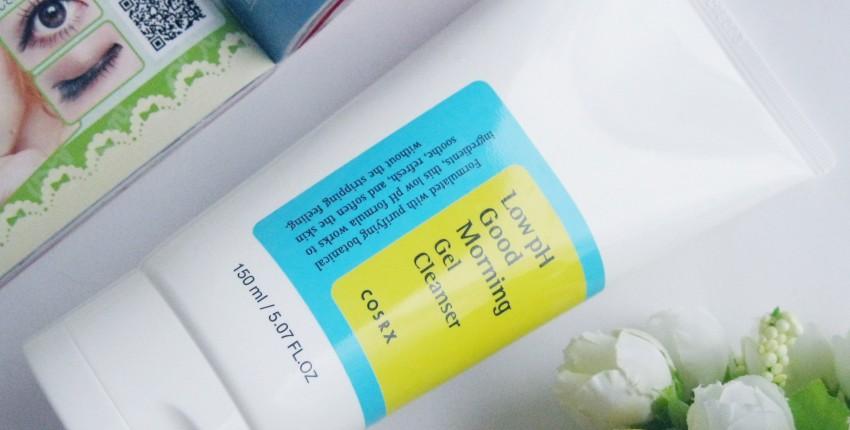 Cosrx Low pH Good Morning Gel Cleanser - гель для утреннего умывания с низким PH. - отзыв покупателя