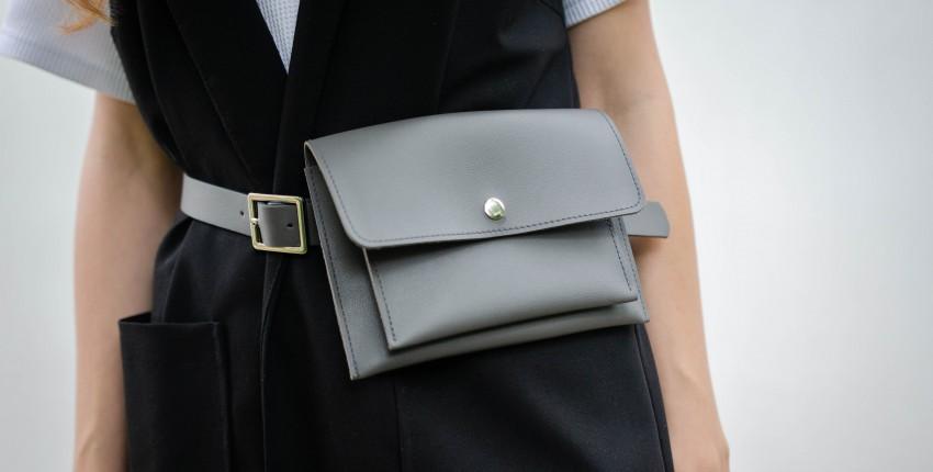 Крутая поясная сумка - отзыв покупателя