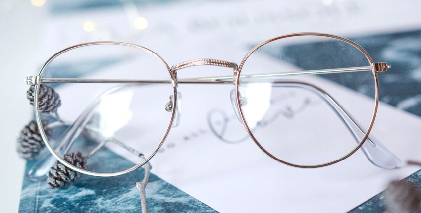 Имиджевые очки  В серебристой оправе - отзыв покупателя