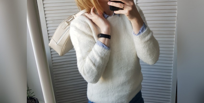 Пушистый свитер - отзыв покупателя