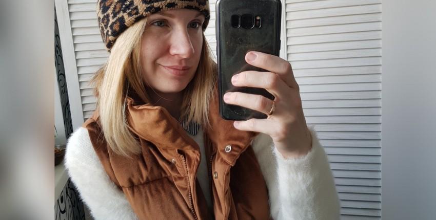 Леопардовая шапочка - отзыв покупателя