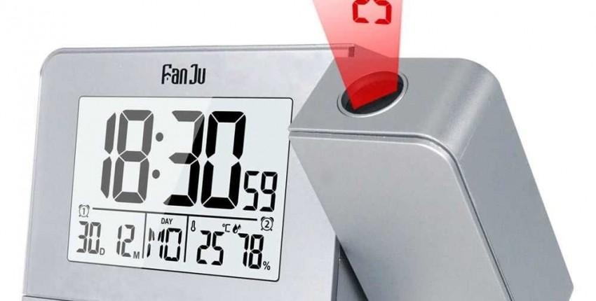 ЖК-цифровой проекционный Будильник