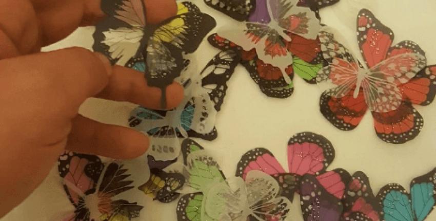 Симпатичные бабочки для украшения интерьера - отзыв покупателя
