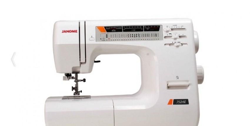 Швейная машина Janome 7524E - отзыв покупателя