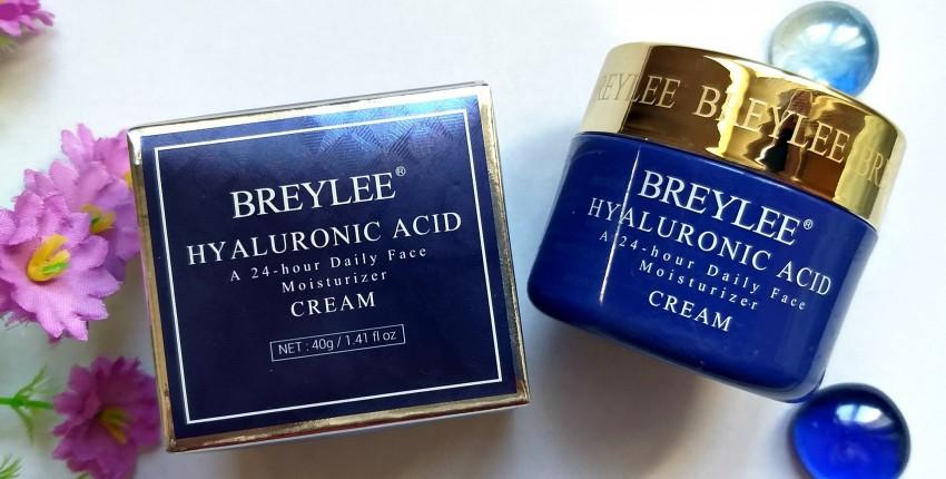 Крем для лица BREYLEE Cream Hyaluronic Acid: подарит коже увлажнение, мягкость и бархатистость. - отзыв покупателя