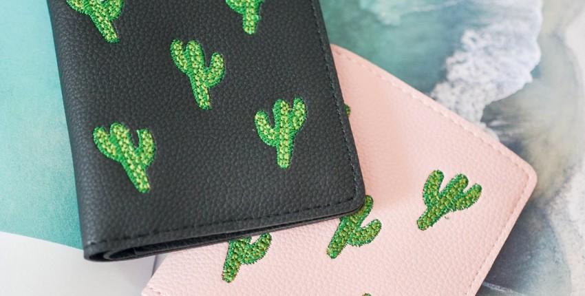 Интересные кошельки с кактусами - отзыв покупателя