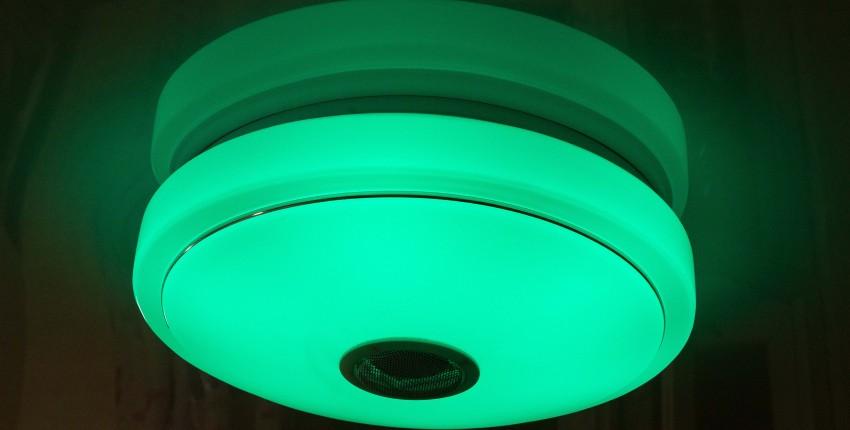 Светодиодная RGB люстра с AliExpress - отзыв покупателя