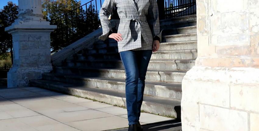 Cтильный пиджак от RUGOD - отзыв покупателя