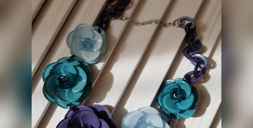 Акриловое ожерелье - отзыв покупателя