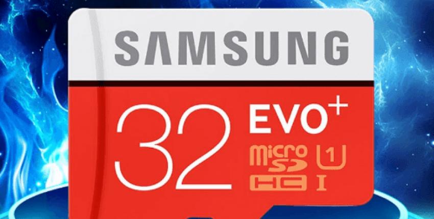 Флеш карта SAMSUNG EVO Micro SD 32G - отзыв покупателя