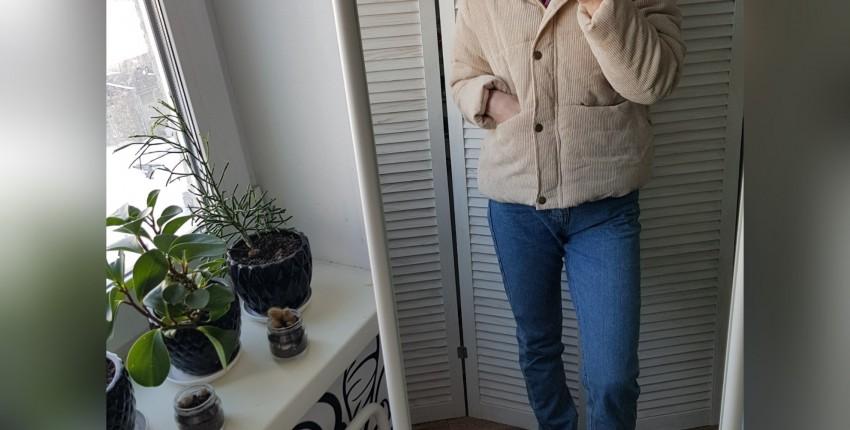 Вельветовая курточка - отзыв покупателя