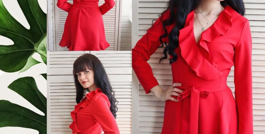 Красное платье INRGAN - отзыв покупателя