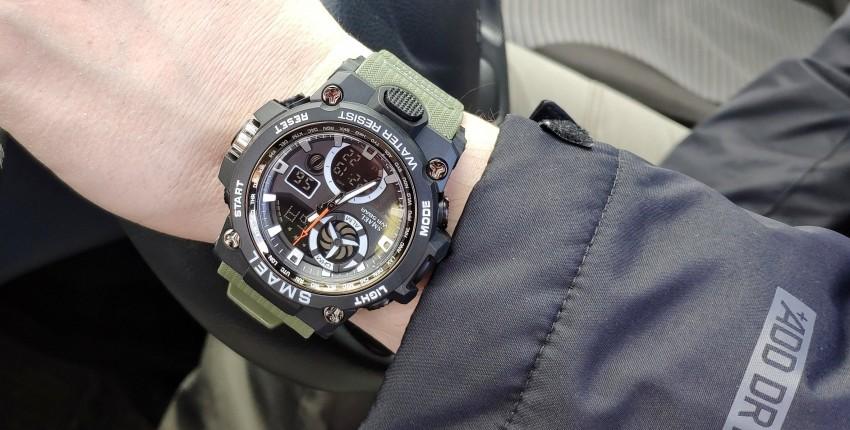 Брутальные часы - отзыв покупателя