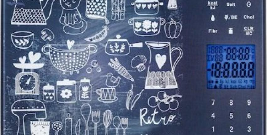 Считаем калорийность пищи с кухонными весами Magio - стильно, модно, удобно - отзыв покупателя
