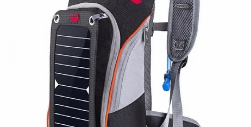 Рюкзак с солнечными панелями - отзыв покупателя
