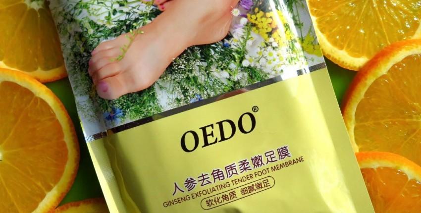 Маска-пилинг для красоты ваших ножек от OEDO - отзыв покупателя