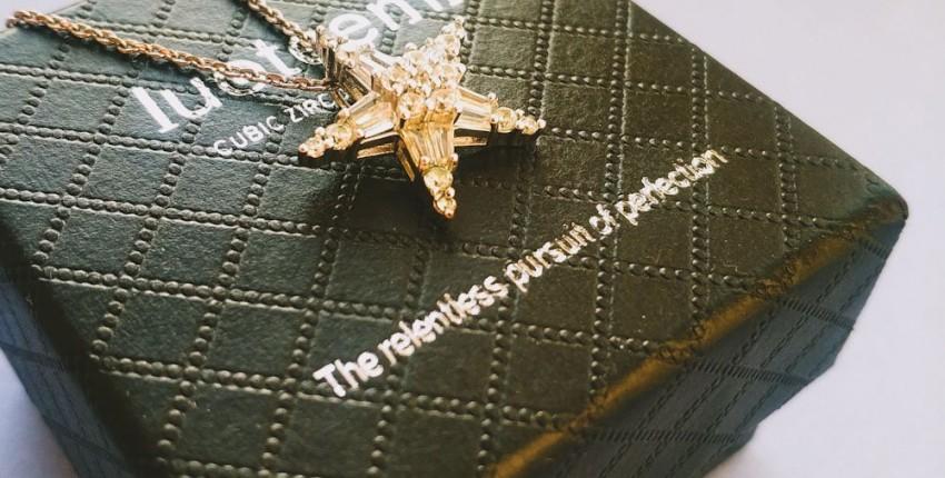 Красивая бижутерия из LUOTEEMI Official Store - цепочка с подвеской - отзыв покупателя
