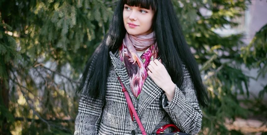 Симпатичный шарф на весну - отзыв покупателя