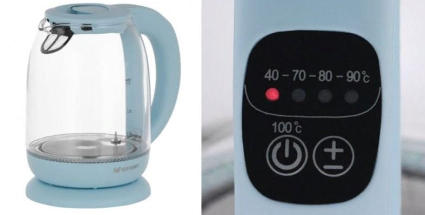 Электрочайник Kitfort КТ-640 - отзыв покупателя