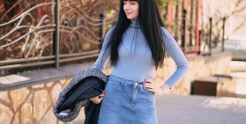 Джинсовая юбка Colorfaith - отзыв покупателя