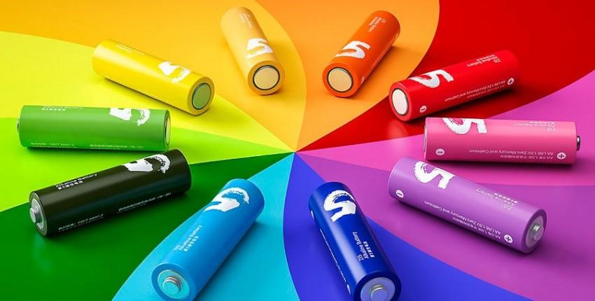 Батарейки Xiaomi Rainbow AA и AAA комплект 10 батареек - отзыв покупателя