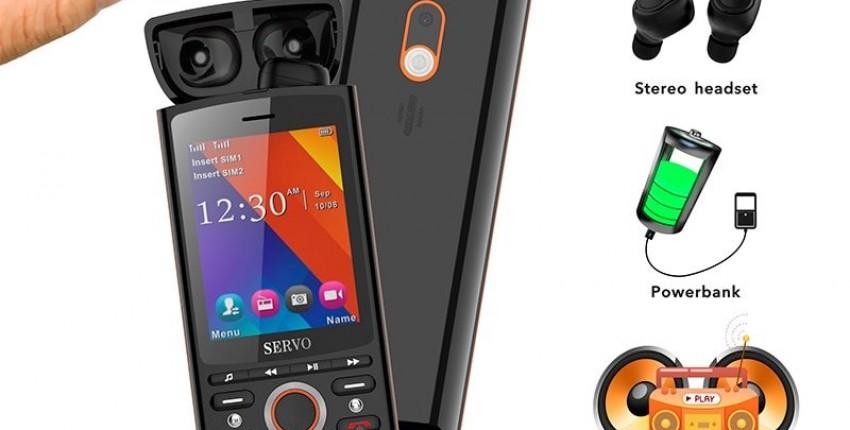 Телефон с встроенными Наушниками! SERVO R25! Телефон мультитул - отзыв покупателя