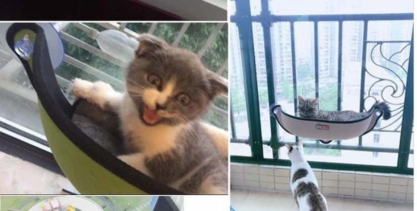 Гамак - ниша для кошки - Комфорт для вашего любимца!