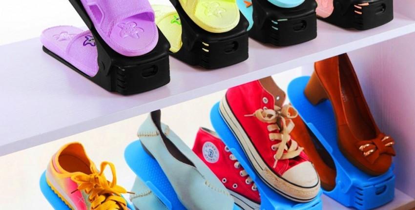 Подставка для хранения обуви - Лучший выбор для экономии места! - отзыв покупателя