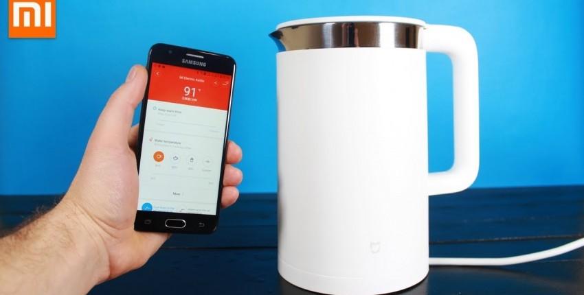 Xiaomi Mi Электро чайник Smart КУПИ УМНЫЙ ЧАЙНИК ХОТЬ КТО-ТО БУДЕТ УМНЫЙ В ДОМЕ