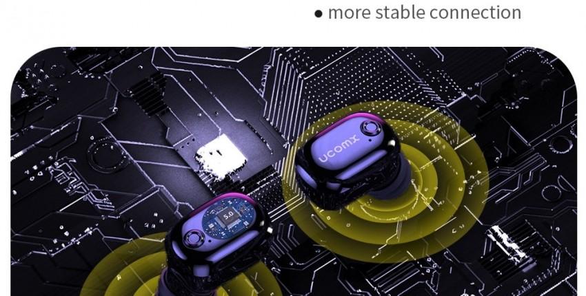 UCOMX U6H Pro беспроводные наушники Bluetooth 5,0 - отзыв покупателя