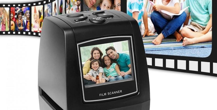 Сканер для оцифровки старых негативных фото плёнок - отзыв покупателя