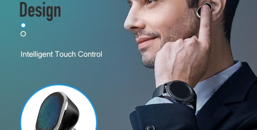 Оригинальный  ROCK SPACE сенсорный Управление СПЦ Bluetooth V5.0 глубокий бас - отзыв покупателя