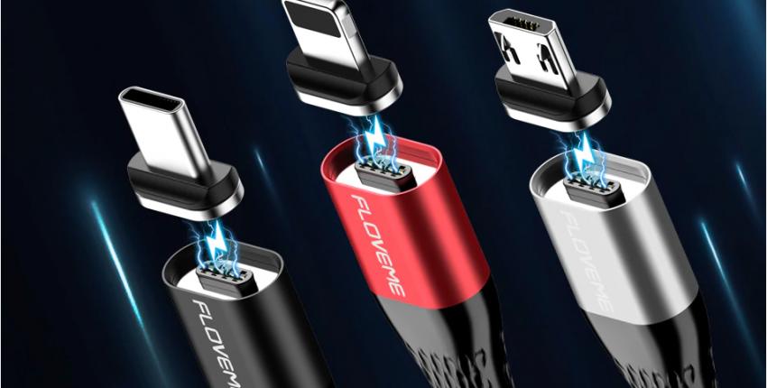 Дешевый магнитный кабель Floveme и компактный кабель в виде темляка - отзыв покупателя