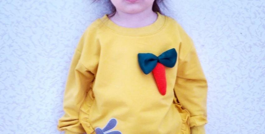 Детский свитшот с морковкой от Bear Leader - отзыв покупателя