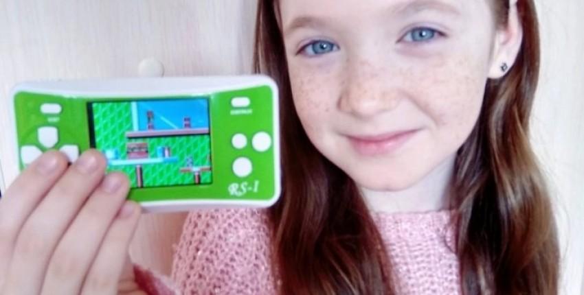 Портативная консоль с ретро играми - отзыв покупателя