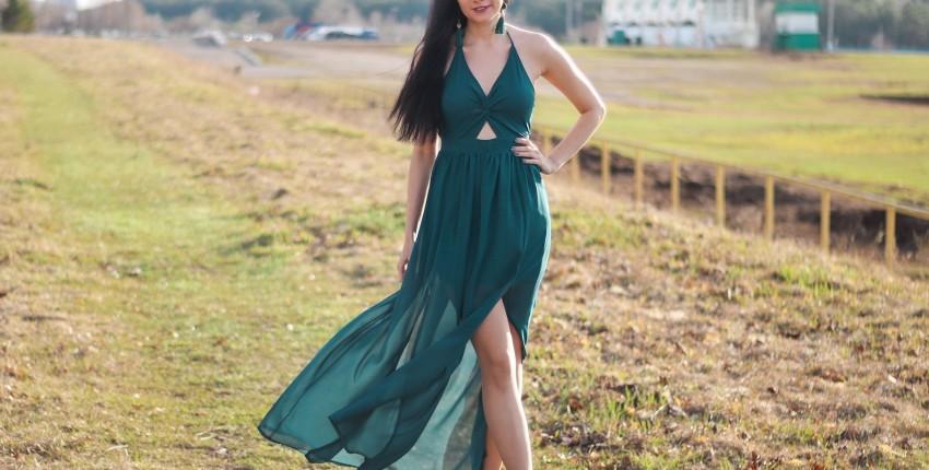 Эффектное платье JassionRainy