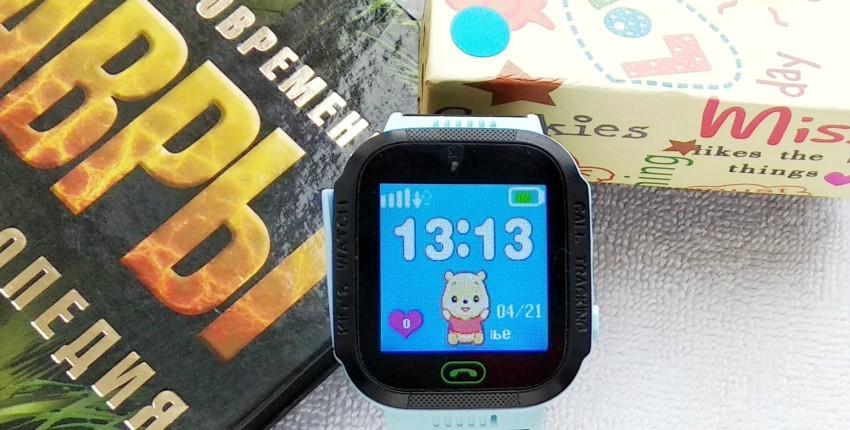 Детские смарт-часы бренда MOCRUX - отзыв покупателя