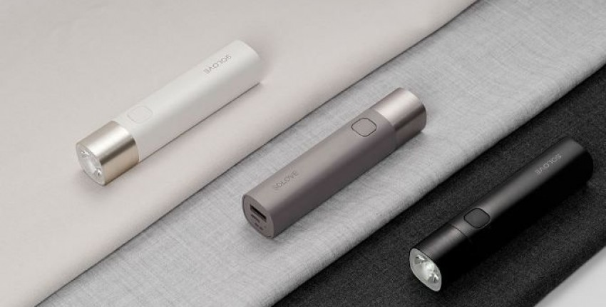 Фонарик Xiaomi SOLOVE Portable Flashlight Mobile Power - отзыв покупателя
