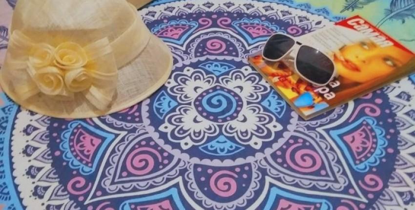 Пляжное полотенце из магазина BeddingOutlet Official Store. - отзыв покупателя