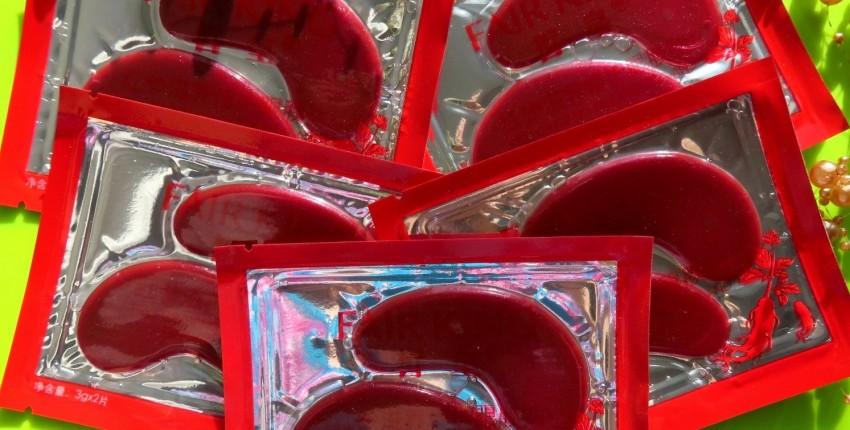 Гидрогелевые коллагеновые патчи с женьшенем от FAIR KING - отзыв покупателя