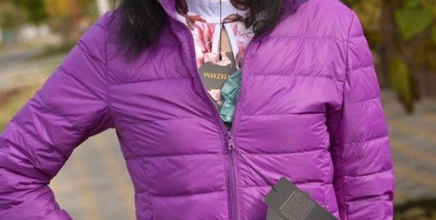 Демисезонная курточка на пуху которая спасет меня от холода у костра
