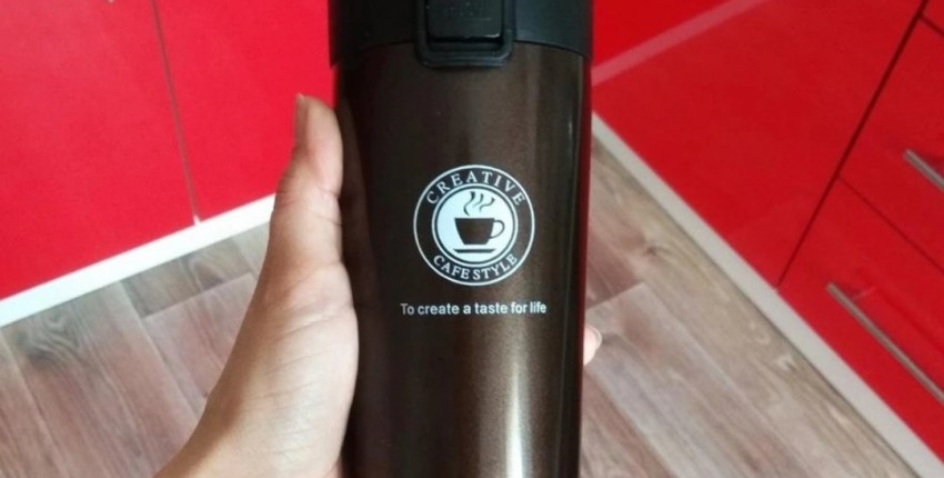 Термокружка для кофеманов - отзыв покупателя