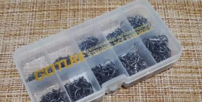 Набор рыболовных крючков от GOTURE
