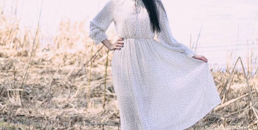 Милое шифоновое платье - отзыв покупателя